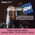 """Etapa Centro-Oeste do Seminário """"Jornalismo, sim!"""" ocorre no dia 29/7 e está com inscrições abertas"""