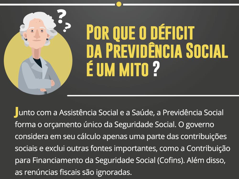 Estudo desmascara o falso déficit previdenciário divulgado pelo governo e propõe o modelo de uma previdência justa e solidária