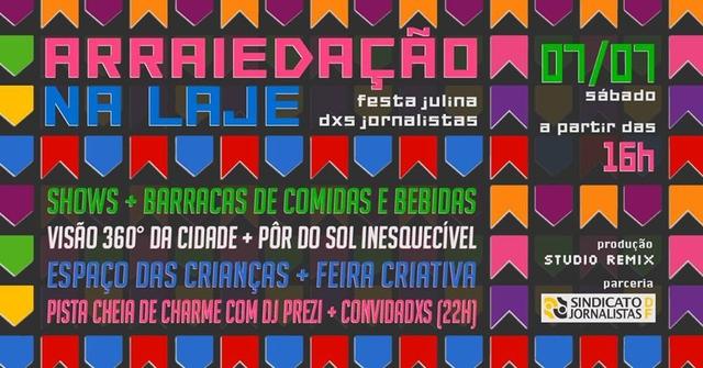 Festa junina dos jornalistas: