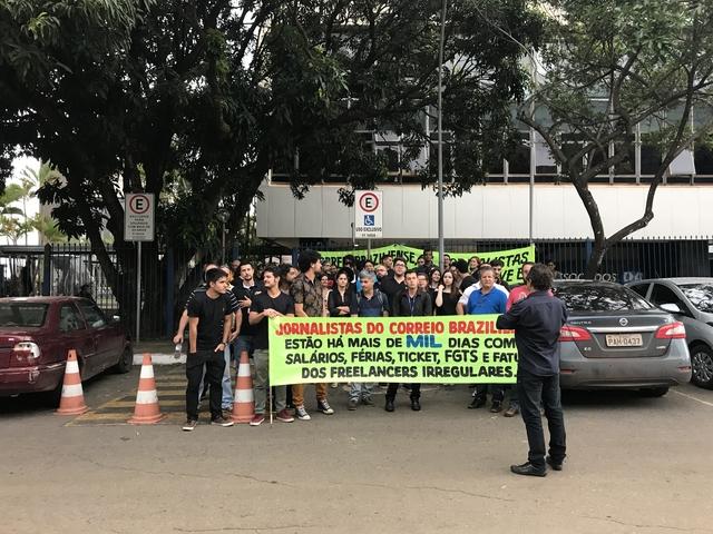 Jornalistas do Correio Braziliense aprovam estado de greve por atraso de salários e cumprimento de direitos