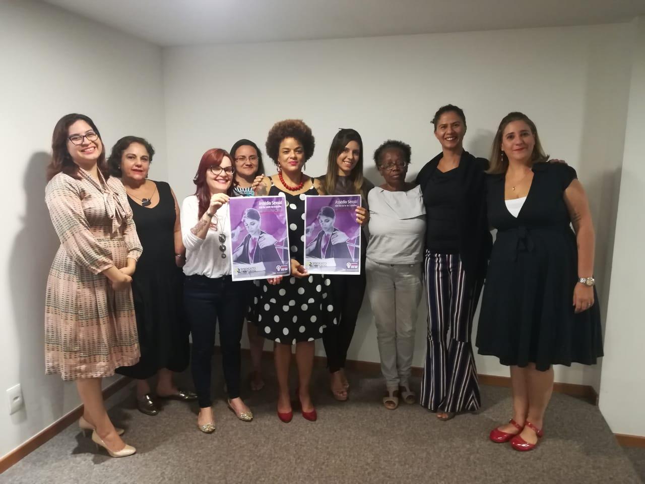 Coletivo de Mulheres lança campanha que visa combater assédio sexual no Jornalismo