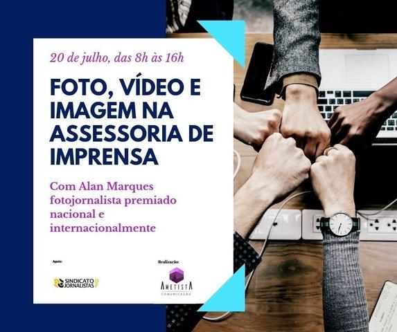 Curso de Foto, vídeo e imagem para assessores de imprensa