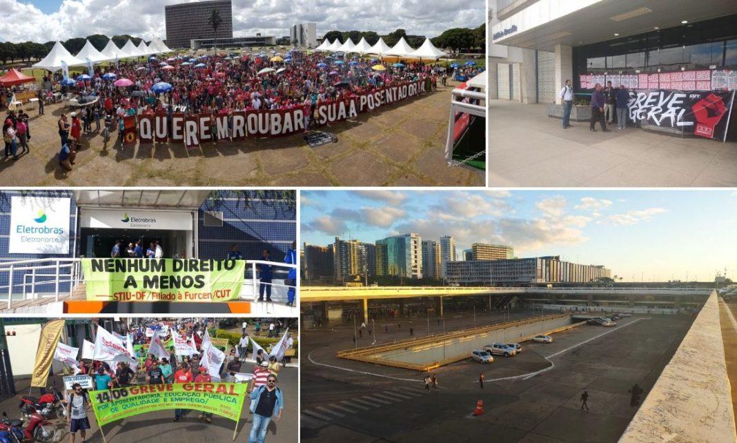 Greve Geral para o DF e classe trabalhadora dá recado a Bolsonaro