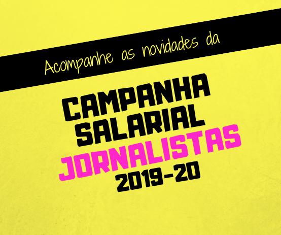 """Jornalistas rejeitam """"pacote de maldades"""" patronal e apresentam nova contraproposta"""