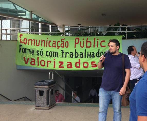 EBC persegue coordenador geral do Sindicato dos Jornalistas do DF