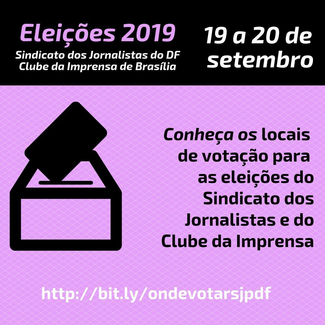 Comissão Eleitoral divulga locais de votação para as eleições do Sindicato e do Clube