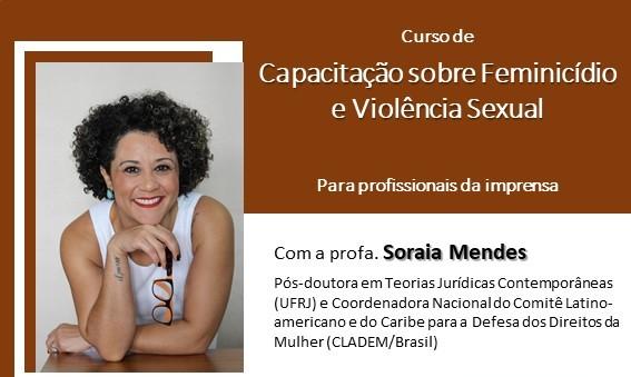 Violência contra mulher é tema de curso de capacitação para jornalistas