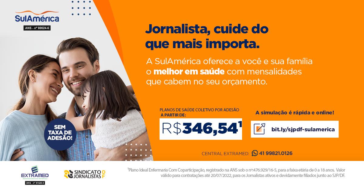 Parceria do Sindicato garante seguro saúde coletivo por adesão da SulAmérica aos jornalistas