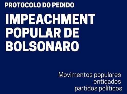 Câmara recebe primeiro pedido coletivo de impeachment de Bolsonaro